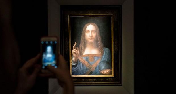 Слика на Леонардо да Винчи продадена за 450 милиони долари