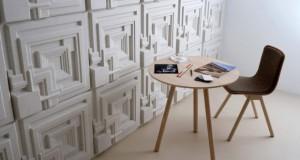 Архитектурата на Рајт како мотив за акустични панели