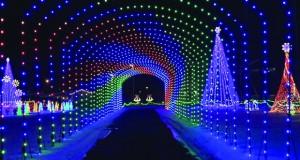 Градините Лонгвуд – новогодишна бајка
