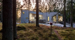 Вилата К со поглед на финската шума и Балтичкото море