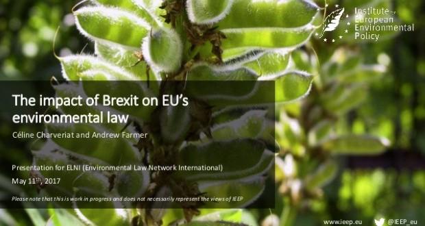 Велика Британија  Напуштањето на ЕУ не значи намалување на еко стандардите