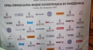 Прва официјална ФИДИК конференција на Македонија