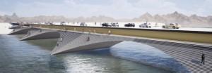 Мост во Шведска кој ќе ја претвори реката во јавен амфитеатар