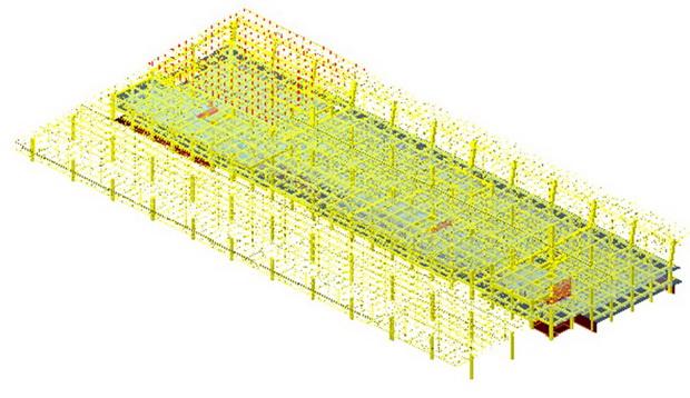 01 3D_Matem model Cela Terminalna zgrada