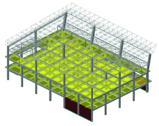 01 3D_Matem model Terminalna - Lamela 1