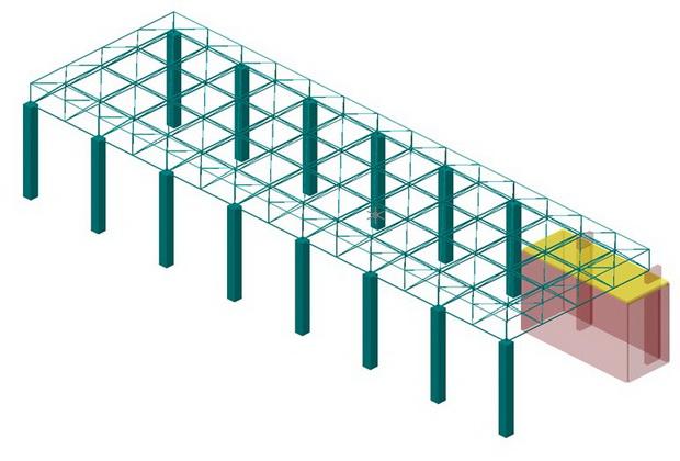 03a 3D_Matem model PP zgrada blok 2