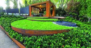 Металот како елемент во уредување на градините