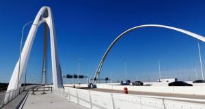 Мостот во Далас на Калтрава затворен поради проблем со конструкцијата