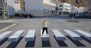 Во Скопје оптичка илузија против брзите возачи
