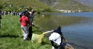 Исчистено езерото Козјак