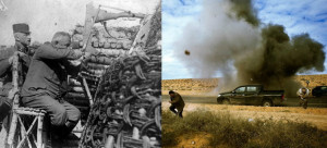 Изложба на фотографии со воени теми на унгарски фотографи од пред сто години и денес