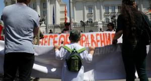 И ова е Скопје…1 мај, протест на ССНМ