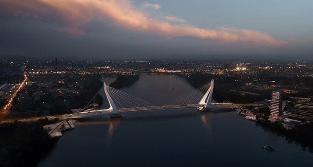 На убавиот син Дунав нов мост