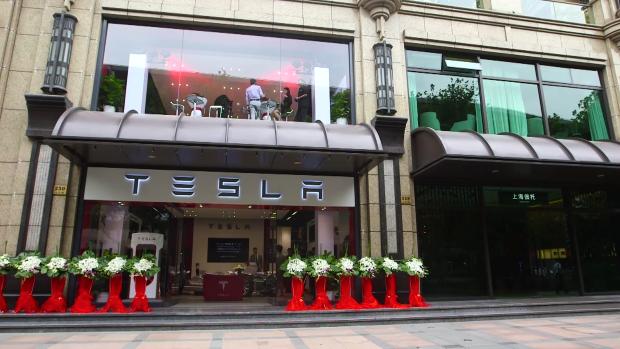 Tesla shangai