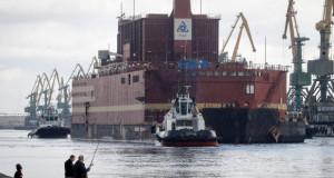Во Русија претставена првата пловечка нуклеарна електрана