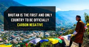 Единствената земја во светот со негативен јаглероден отпечаток