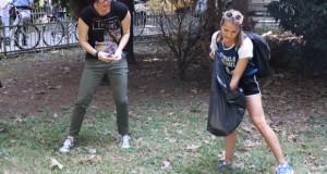 И ова е Скопје..некои актери го чистеа Клинички центар