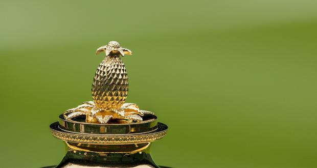 Зошто на врвот на вимблдонскиот трофеј има ананас?