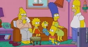 """Дневната соба на Симпсонови """"оживеа"""" надвор од ТВ екранот"""