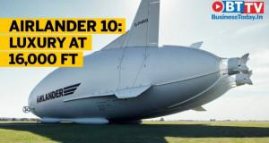 Airlander 10, овојпат со луксузни спални и стаклени подови