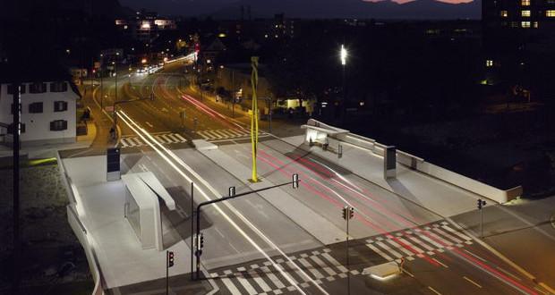 Еден мост – пет различни бетонски површини