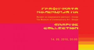 Денес ќе бидат изложени дела од Графичката колекција на МСУ