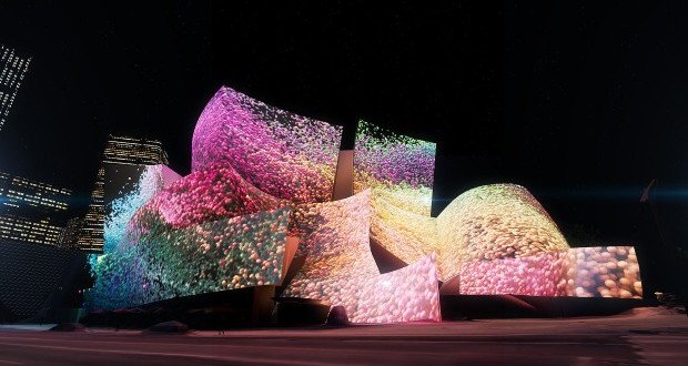 Осветлување од соништата: Концертна сала Лос Анџелес