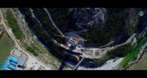 Се спојува највисокиот мост на подрачјето на поранешна Југославија