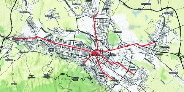 predlog za brz tramvaj