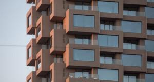 Монтажна бетонска кула на ОМА во Стокхолм