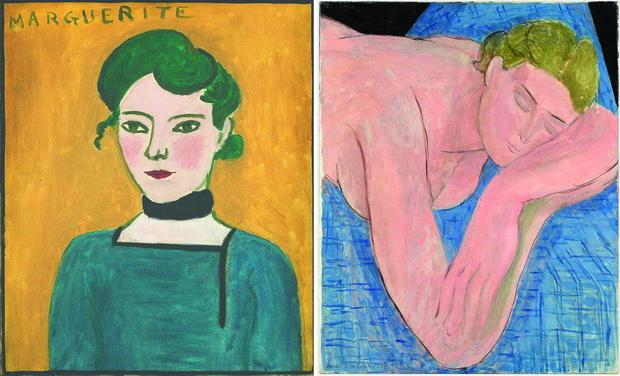 Left-Henri-Matisse-Marguerite-Right-Henri-Matisse-Dream