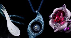 Волшебен накит од порцелан дело на Wallace Chan
