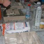 Студентите на АФС изработија модели со помош на саморазливен цементен малтер