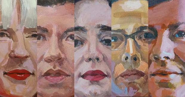 """Денес  изложба на Јана Јакимовска """"Хероините на нашето време"""""""