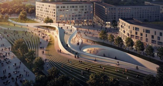 Метро станици во Осло инспирирани од ледени пејсажи