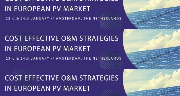 Европска конференција за фотоволтаици во Амстердам