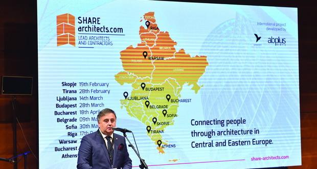 Share architects ги собра европските архитекти во Скопје