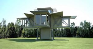 Неверојатни куќи кои се трансформираат со притискање на копче