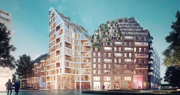Футуристички станбен блок во Амстердам