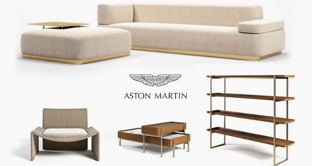 Минималистичка и елегантна Aston Martin колекција на мебел