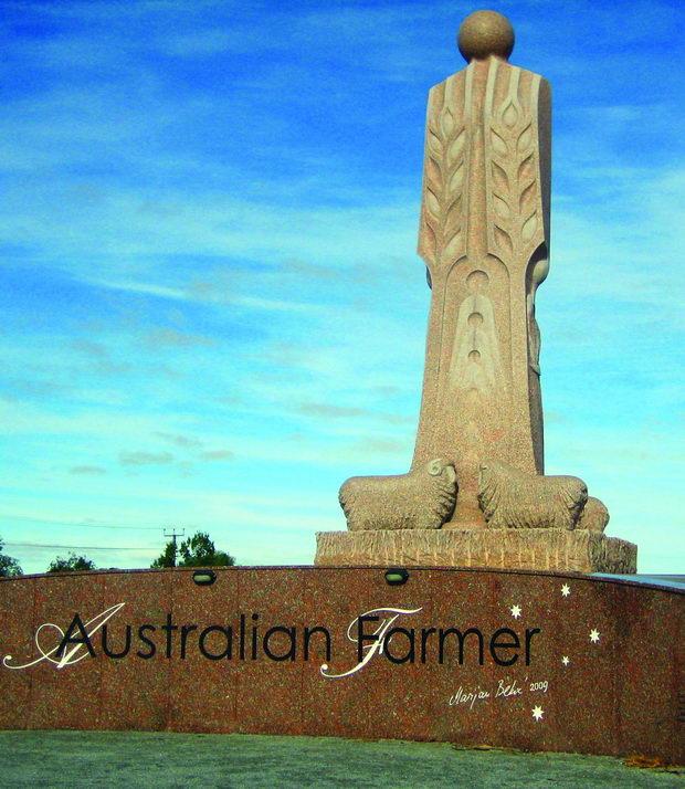 01 Споменик на австралискиот фармер