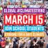 Како едно девојче поттикна илјадници ученици од 800 градови на климатска акција?