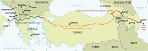 TANAP ќе започне со испорака на гас кон Европа во средината на април
