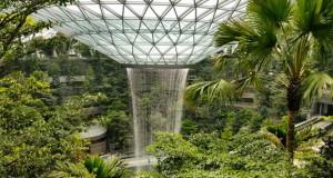 Аеродром со највисок затворен водопад во светот