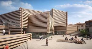 Музеј од дрвени греди во Турција