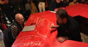 """Проектот """"Субверзија во црвено"""" претставен на 58. Биенале на уметноста во Венеција"""