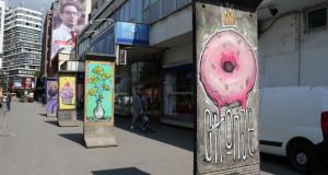 Бетонските постаменти во Скопје оживеаа