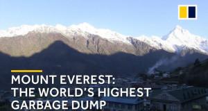 На Монт Еверест собрани 11 тони отпад