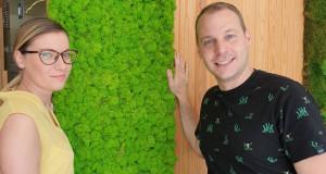 Вертикалните градини на Flowercity, сѐ почесто се инсталираат во приватни станови и куќи