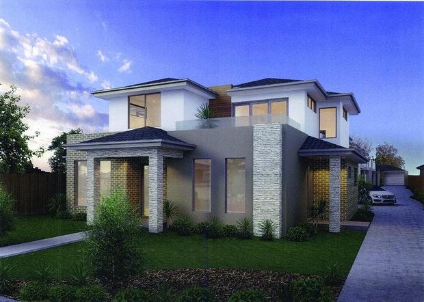 04 Town-house, Melbourne, Извор Google Images
